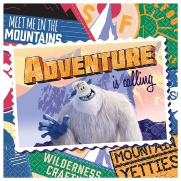 SmallFoot Lunch Napkins