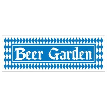 Oktoberfest Beer Garden Sign Banner