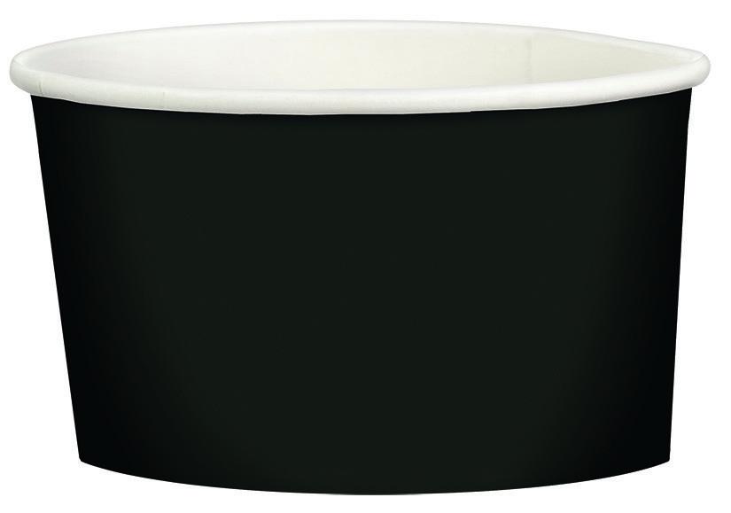 Paper Treat Cup 280ml Jet Black