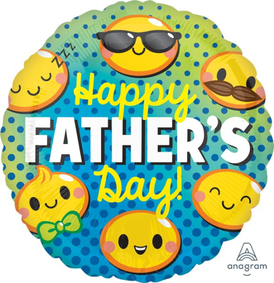 45cm Standard HX Happy Fathers Day Emoticons S40