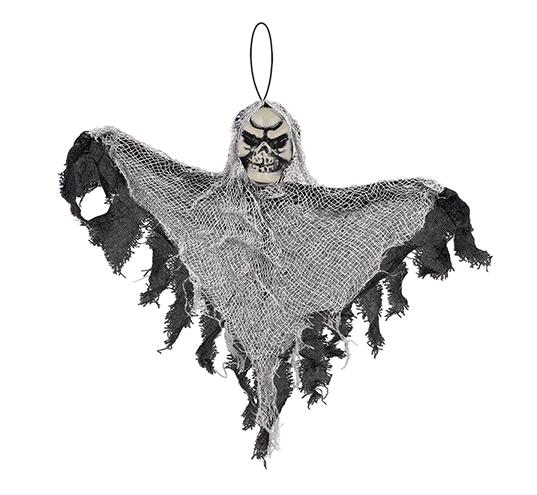 Small Black Reaper Hanging Prop Decoration Fabric & Plastic NEW DESIGN