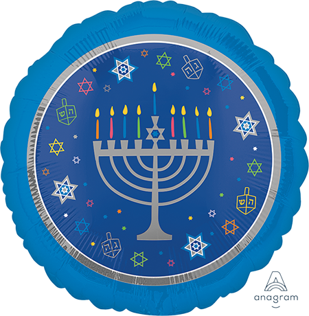 45cm Standard HX Hanukkah Eight Happy Nights S40