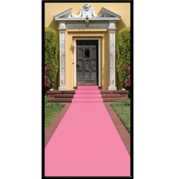 Pink Carpet Floor Runner
