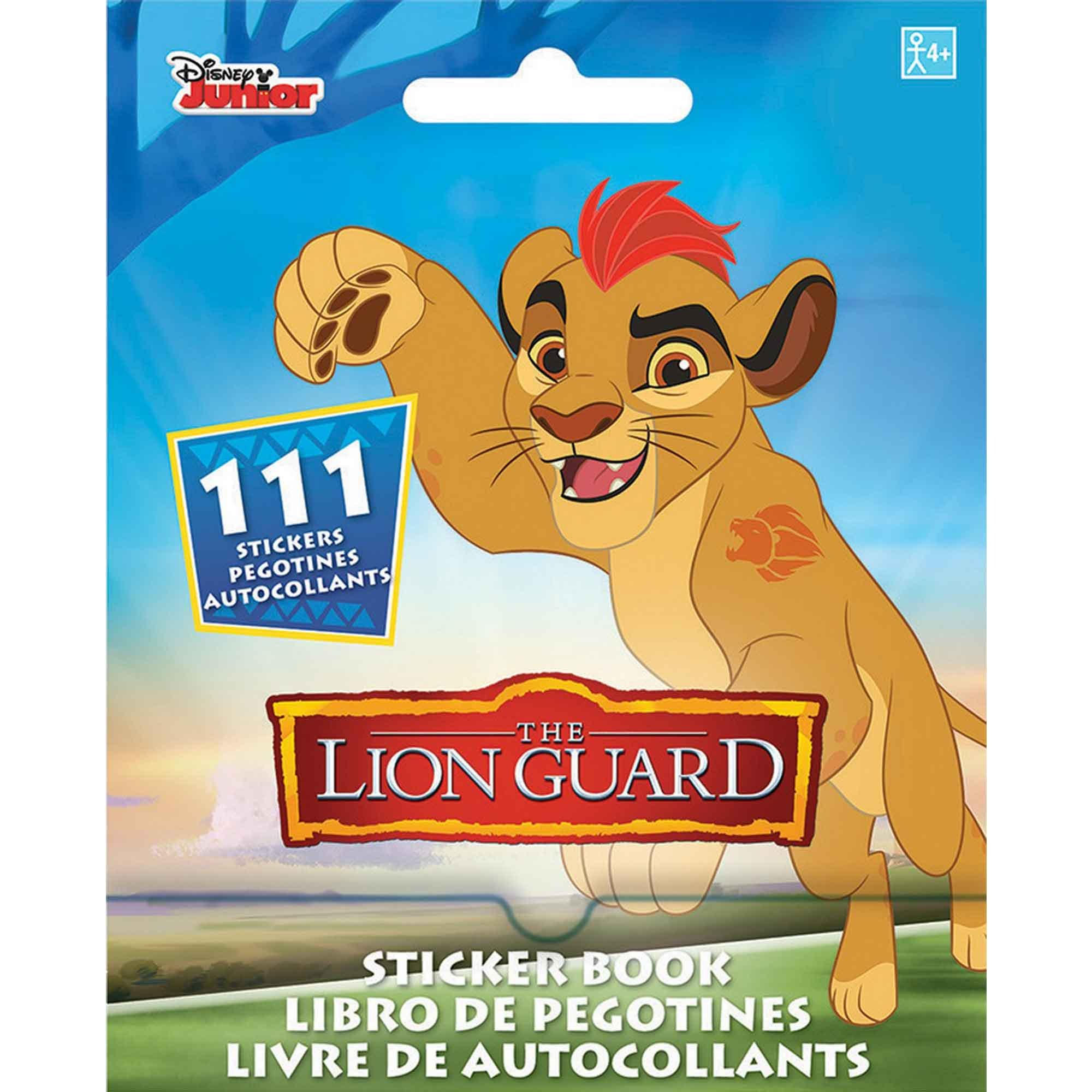 Sticker Booklet Lion Guard
