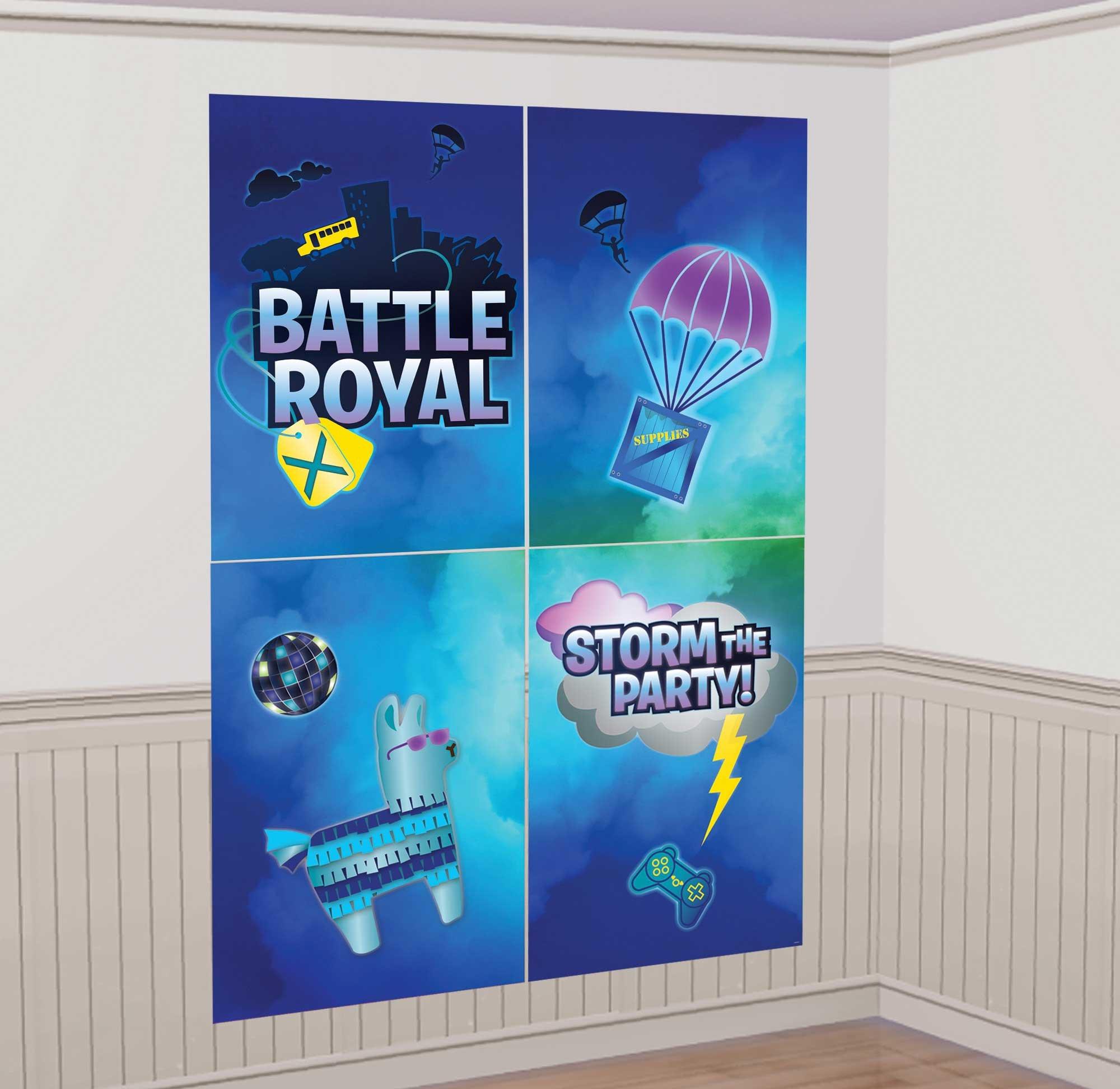 Battle Royal Scene Setter with Props