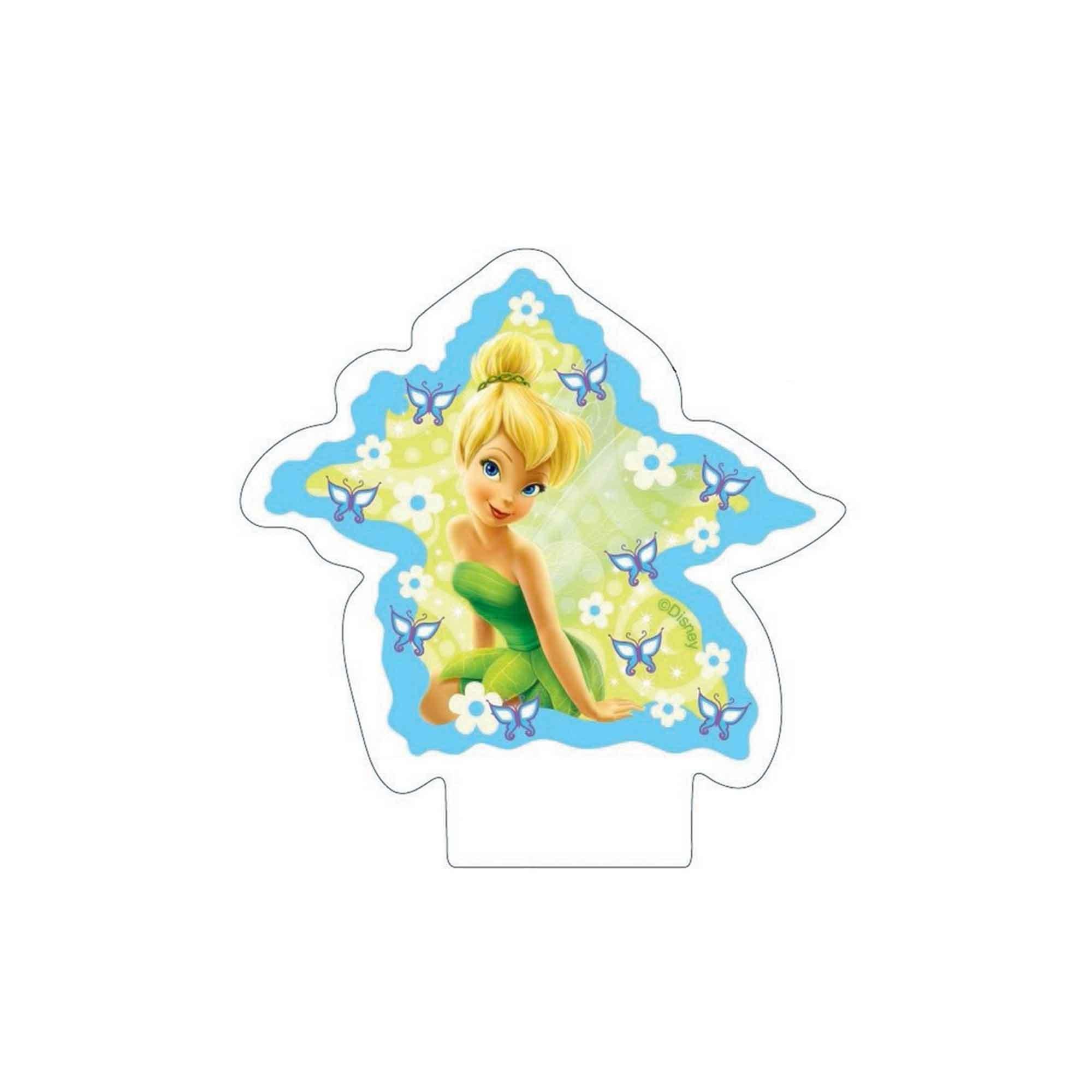 Disney Fairies Flat Candle