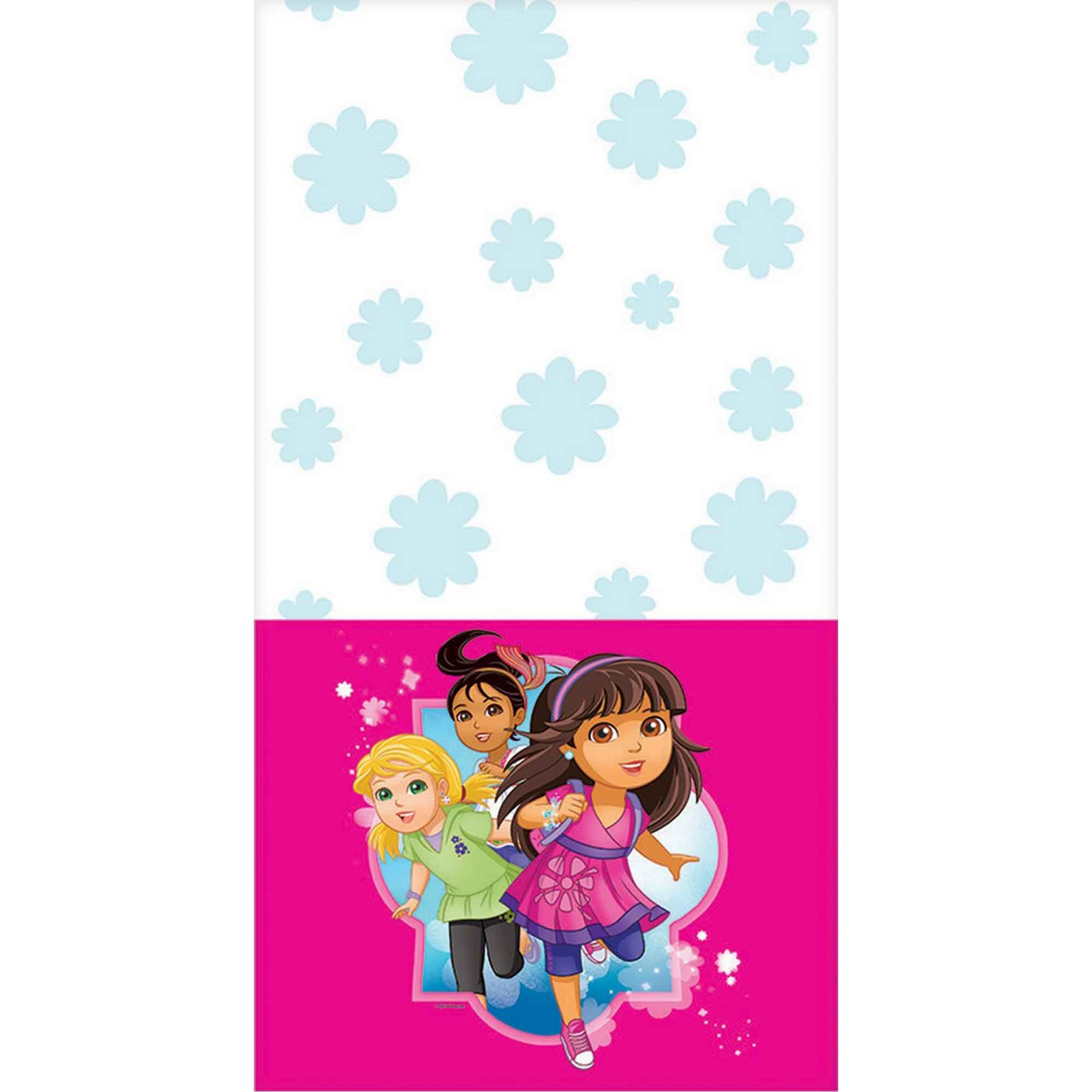 Dora and Friends Tablecover Plastic