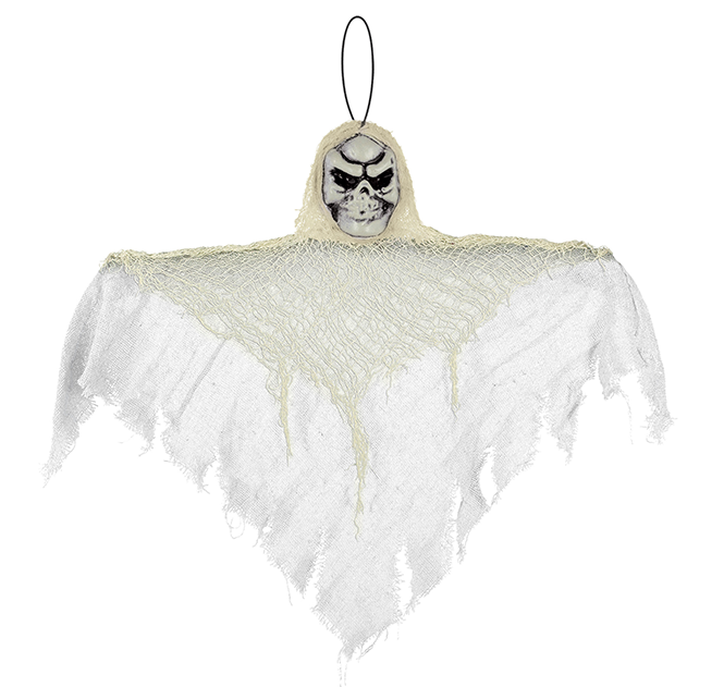 Small White Reaper Hanging Prop Decoration Fabric & Plastic NEW DESIGN