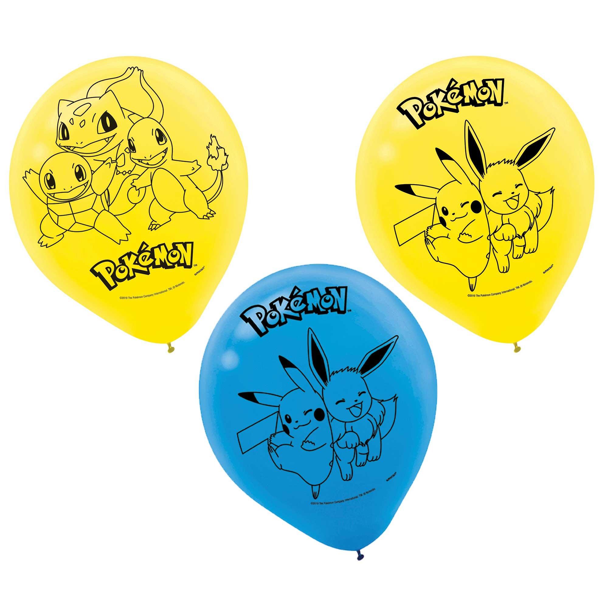 Pokemon Classic 30cm Latex Balloons