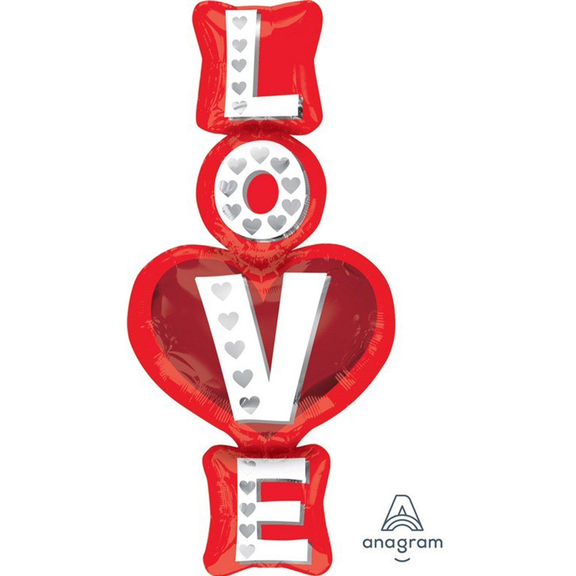 SuperShape XL Love Stacked Hearts P35