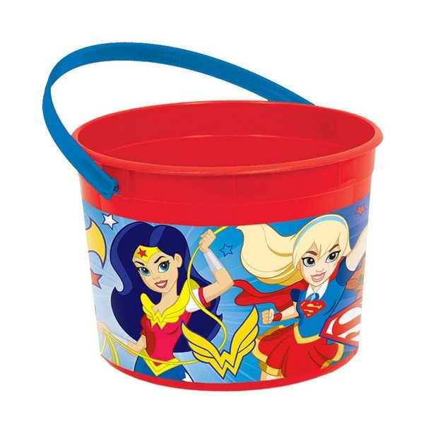 Superhero Girls Favor Container