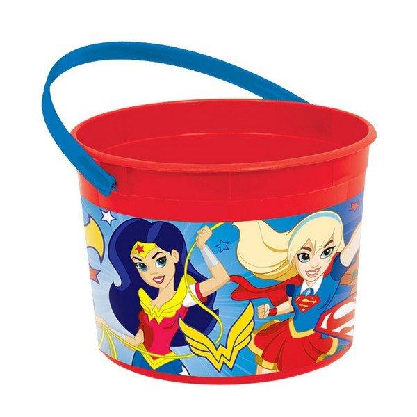 DC Superhero Girls Favor Container
