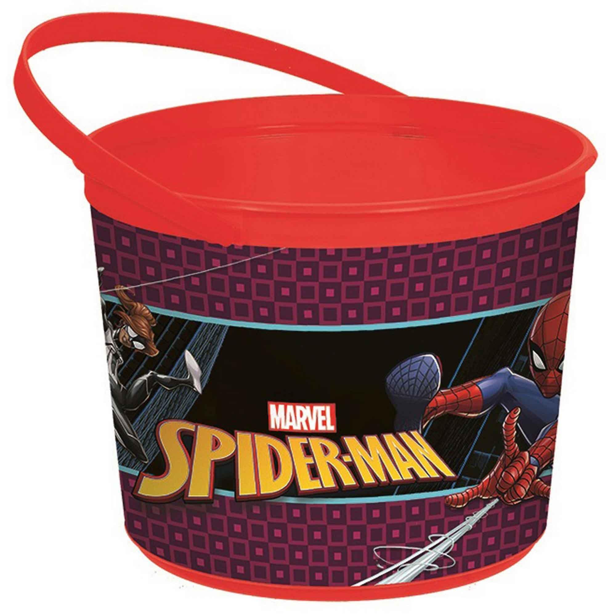 Spider-Man Webbed Wonder Favor Container - Plastic