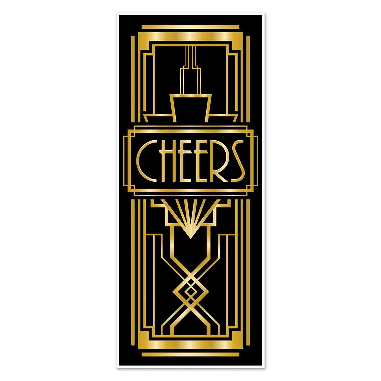 Great 20's Cheers Door Cover