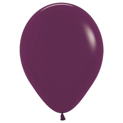 Sempertex 30cm Fashion Burgundy Latex Balloons 018, 25PK