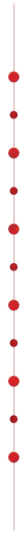 Balloon Fun Strings Red