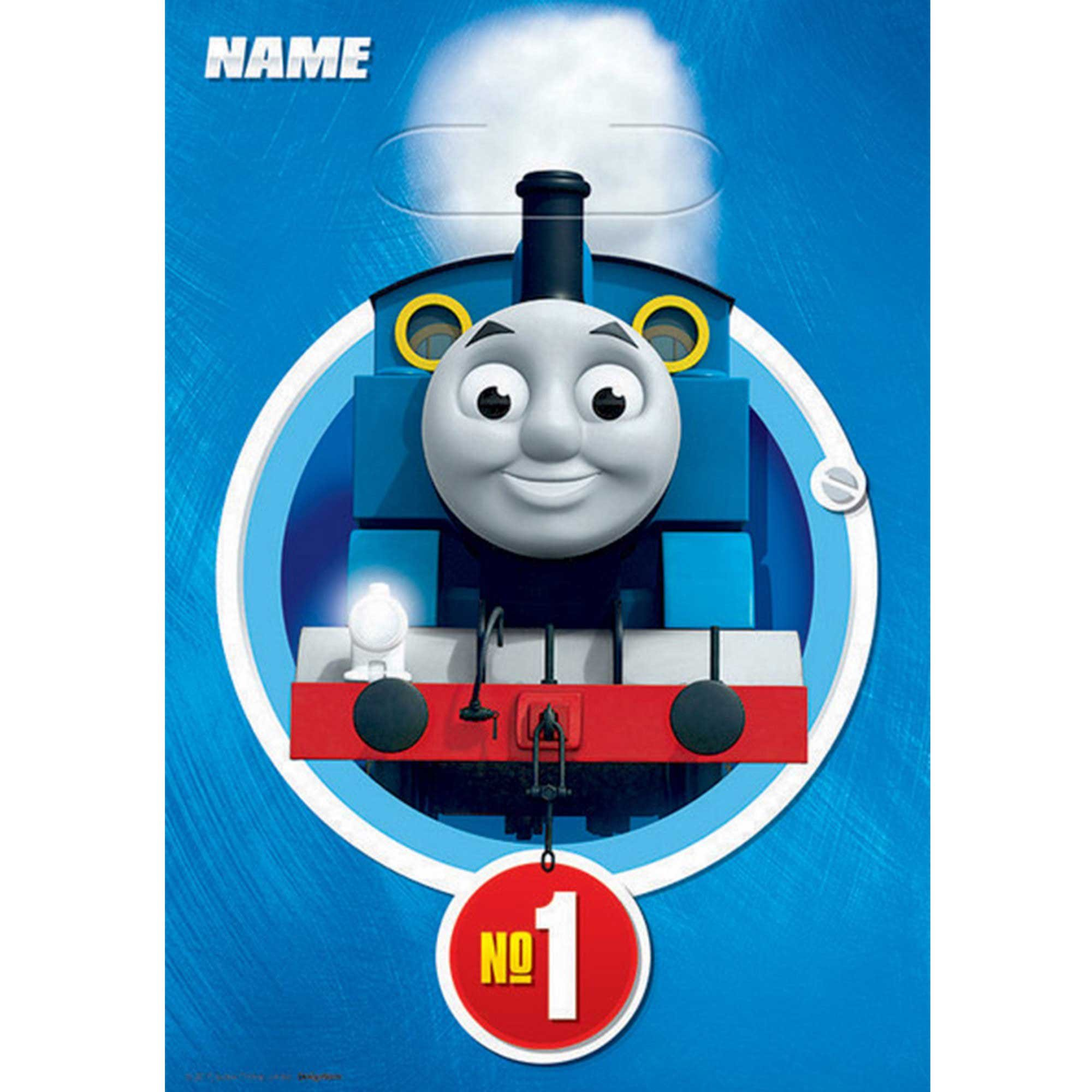 Thomas All Aboard Folded Loot Bags