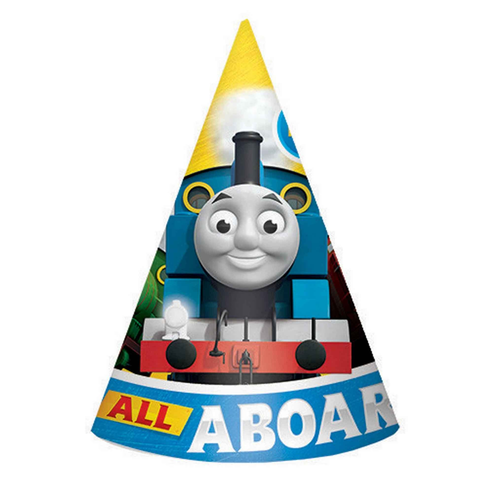 Thomas All Aboard Cone Hats - Paper