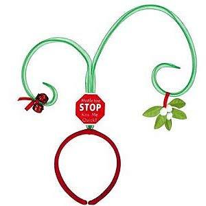 Headband Mistletoe with Jingle