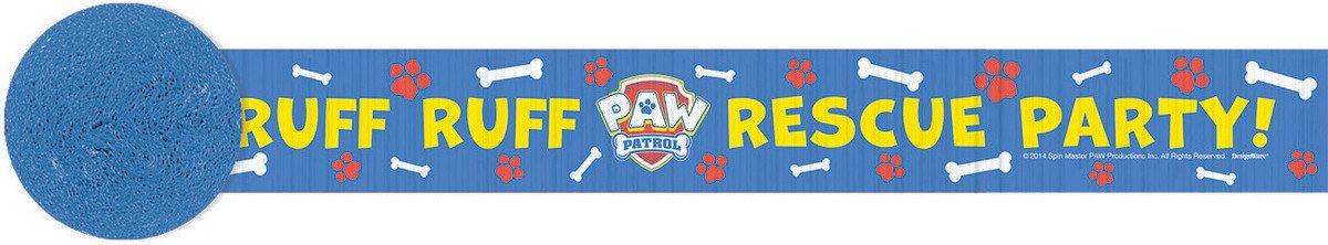 Paw Patrol Crepe Streamer