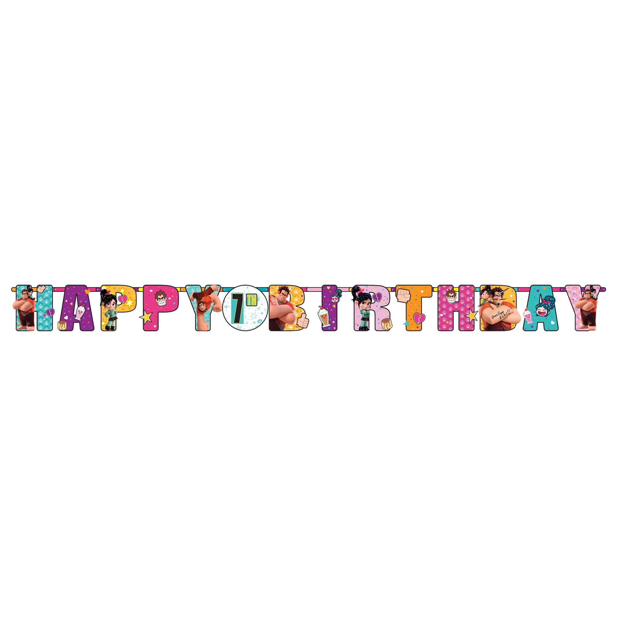 Wreck It Ralph 2 Jumbo Add-An-Age Banner