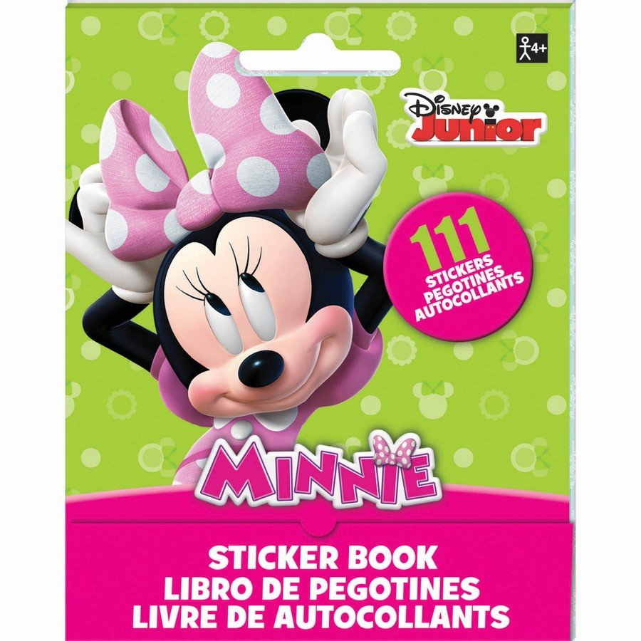 Sticker Booklet Minnie Mouse