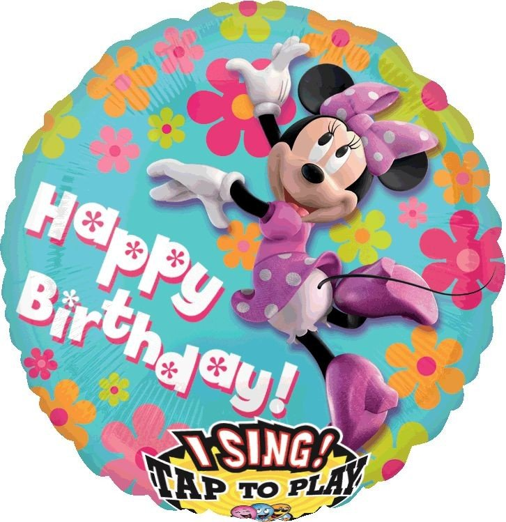 Sing-A-Tune XL Minnie Mouse Birthday P75
