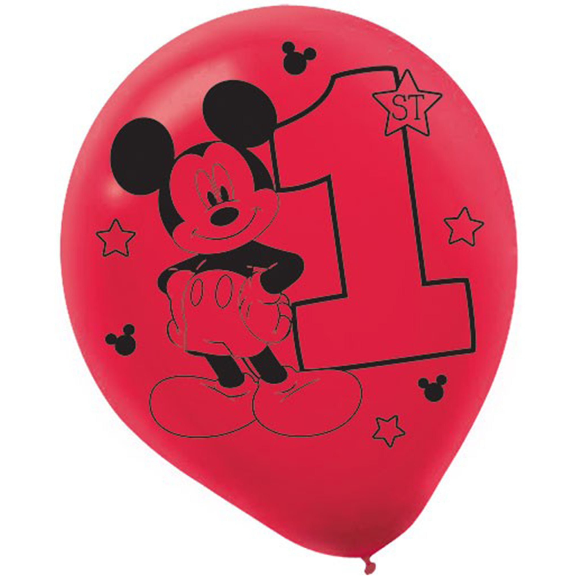 Mickey Fun To Be One Printed 30cm Latex Balloons