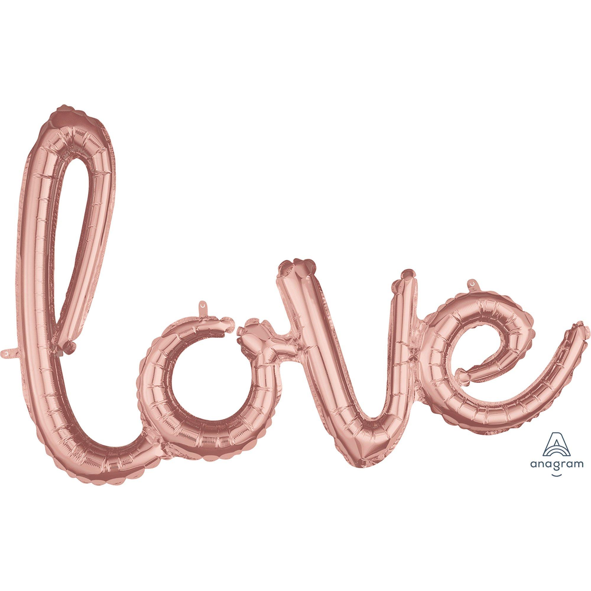 CI: Phrase Script love Rose Gold G40