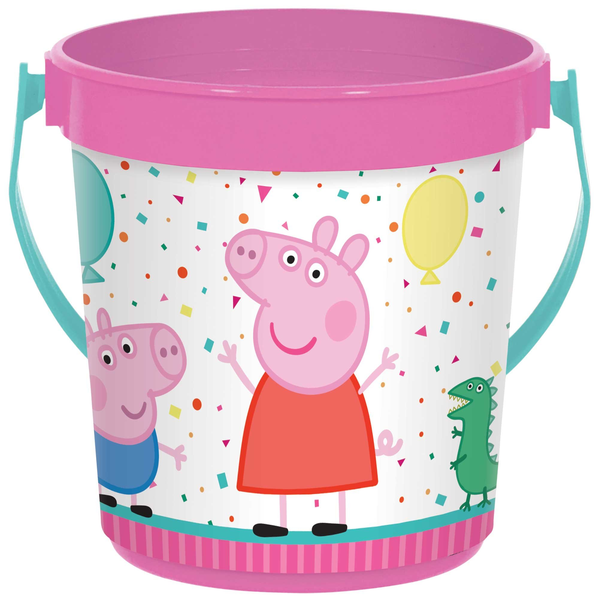 Peppa Pig Confetti Party Favor Container