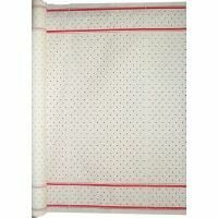 Tablecloth Roll Paper Red Checkers