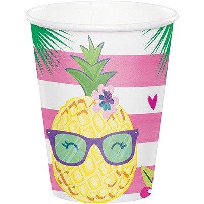 Pineapple N Friends Cups Paper 266ml