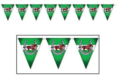 Pennant Flag Banner Horse Racing