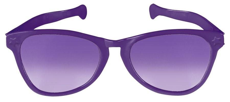 Jumbo Glasses - Purple