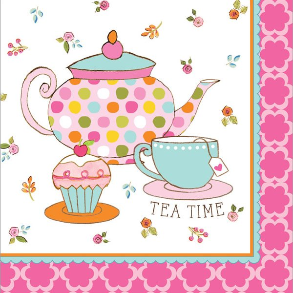 Tea Time Lunch Napkins