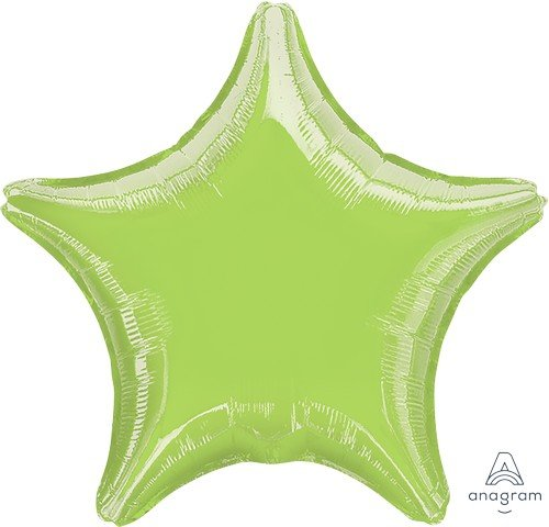 45cm Standard Star XL Metallic Lime Green S15