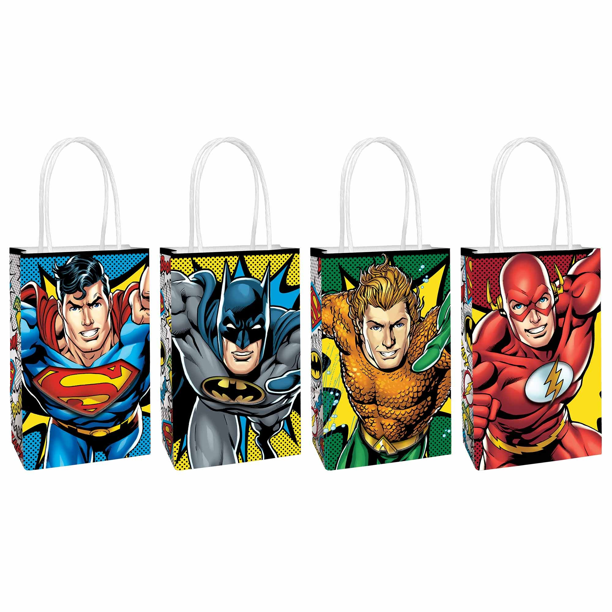 Justice League Heroes Unite Create Your Own Paper Kraft Bags