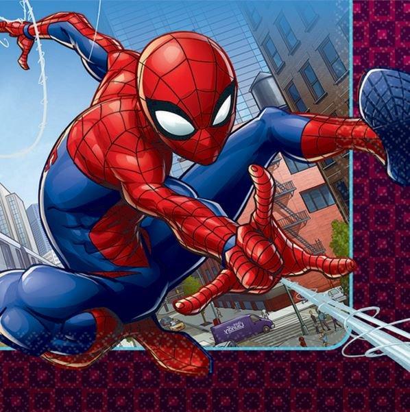 Spider-Man Webbed Wonder Lunch Napkins
