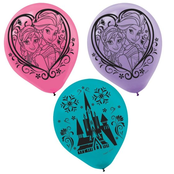 Frozen 30cm Latex Balloons