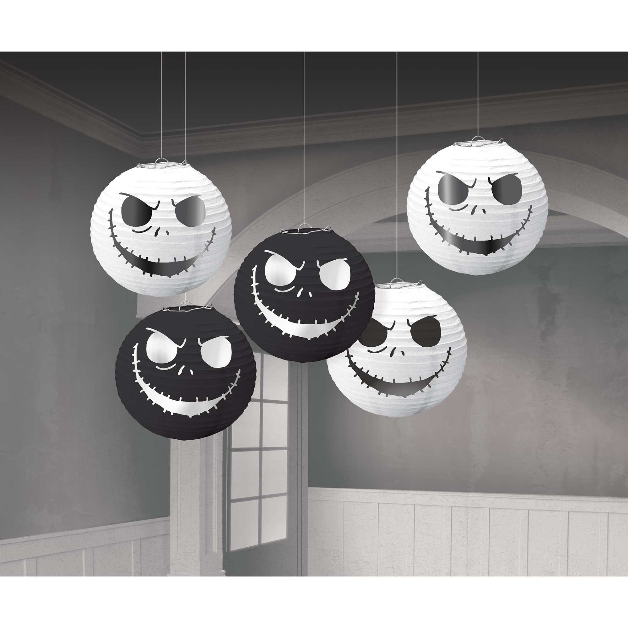 The Nightmare Before Christmas Mini Lanterns Hot Stamped