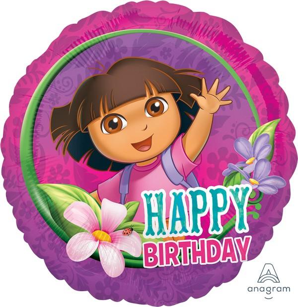 45cm Standard HX Dora Happy Birthday S60