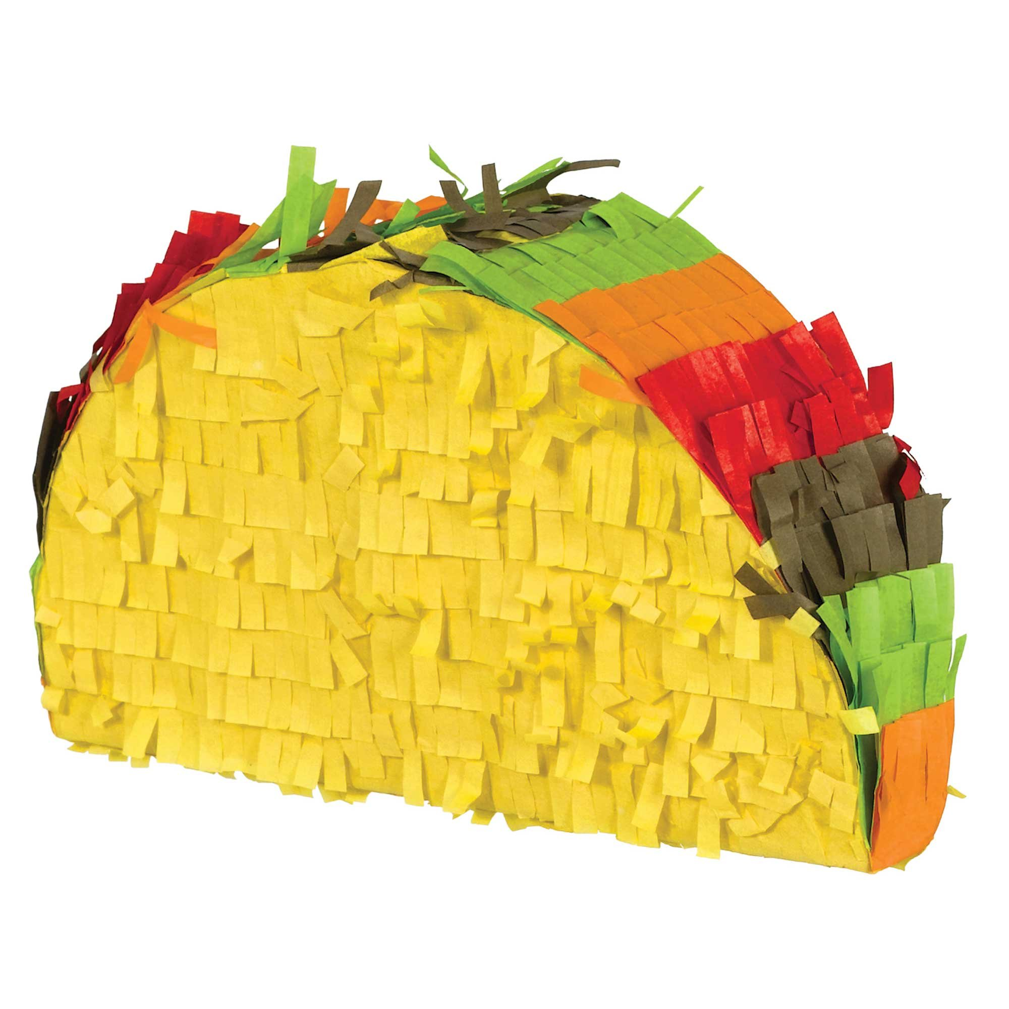 Fiesta Mini Taco Pinata Decoration