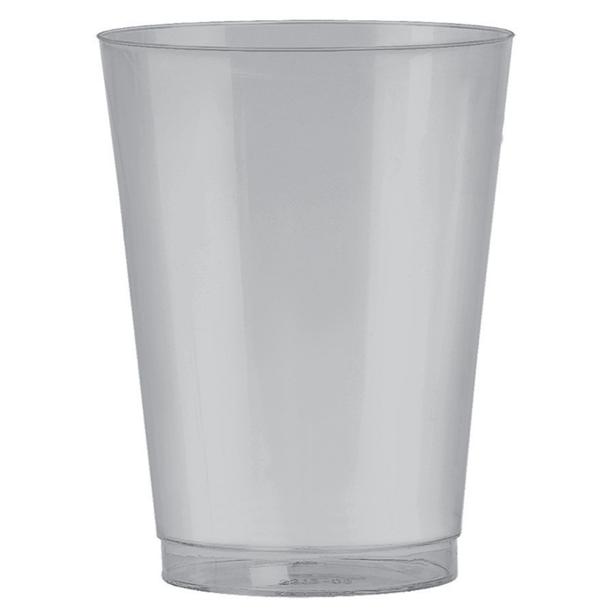 Big Party Pack 295ml Plastic Tumbler Silver
