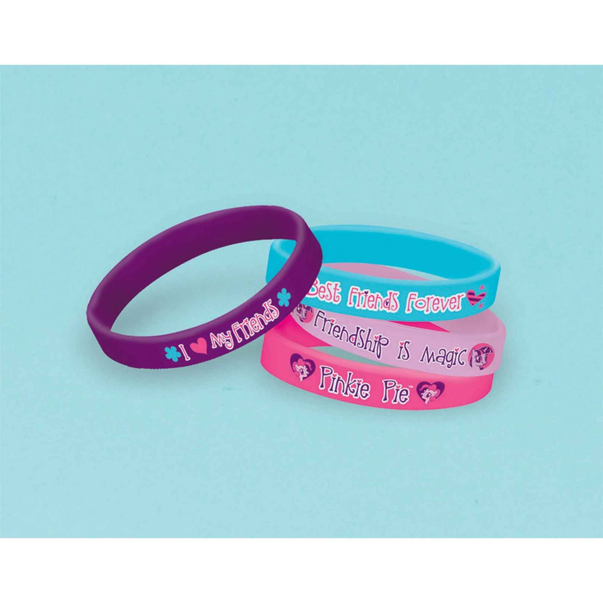 My Little Pony Friendship Rubber Bracelet Favor