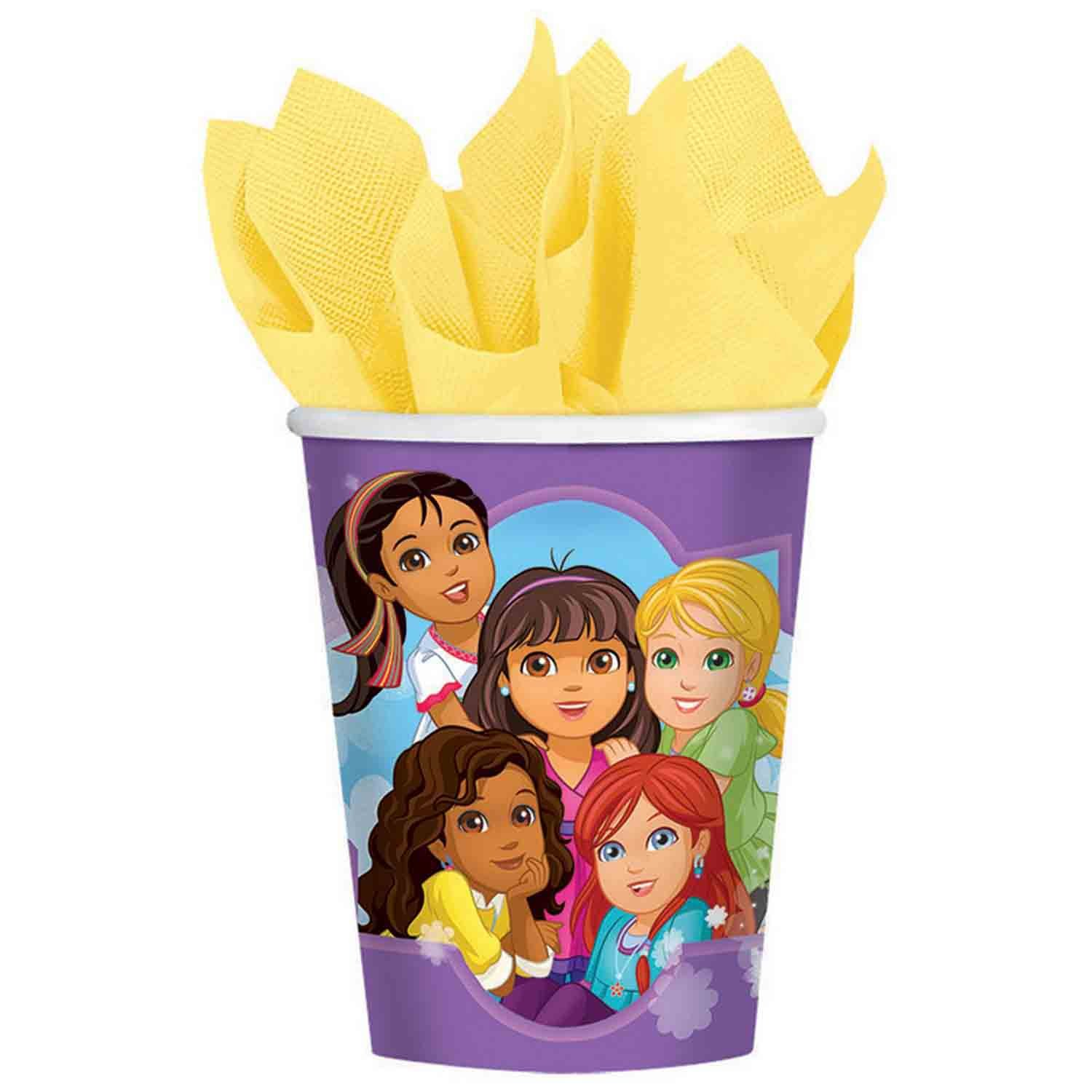 Dora and Friends 266ml Cups