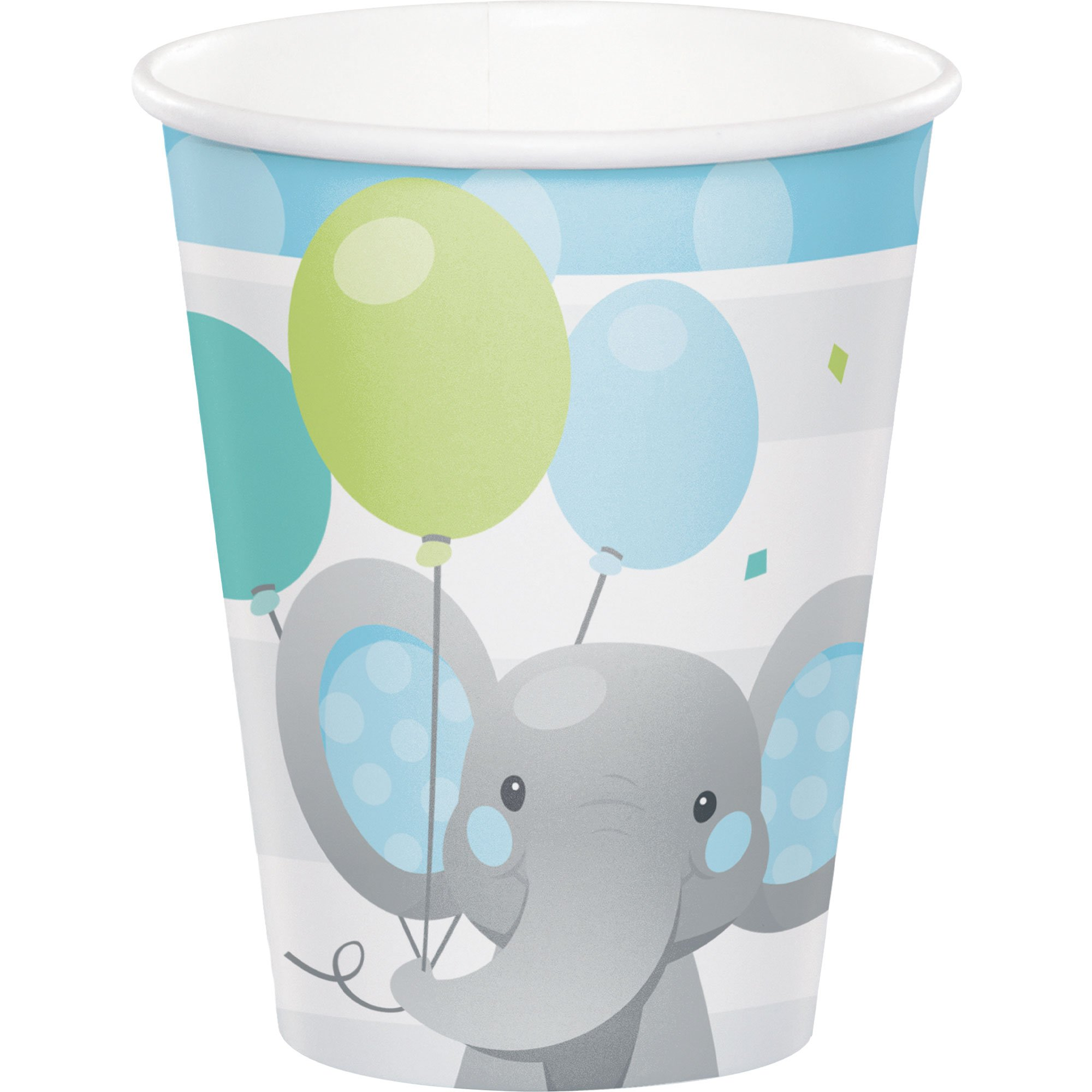Enchanting Elephant Boy Cups Paper 266ml