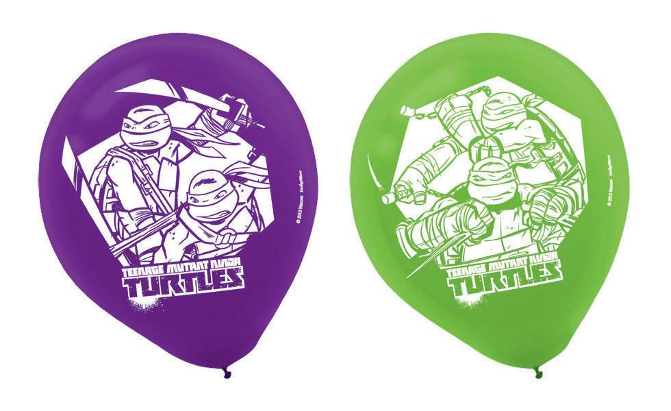 Teenage Mutant Ninja Turtles 30cm Latex Balloons