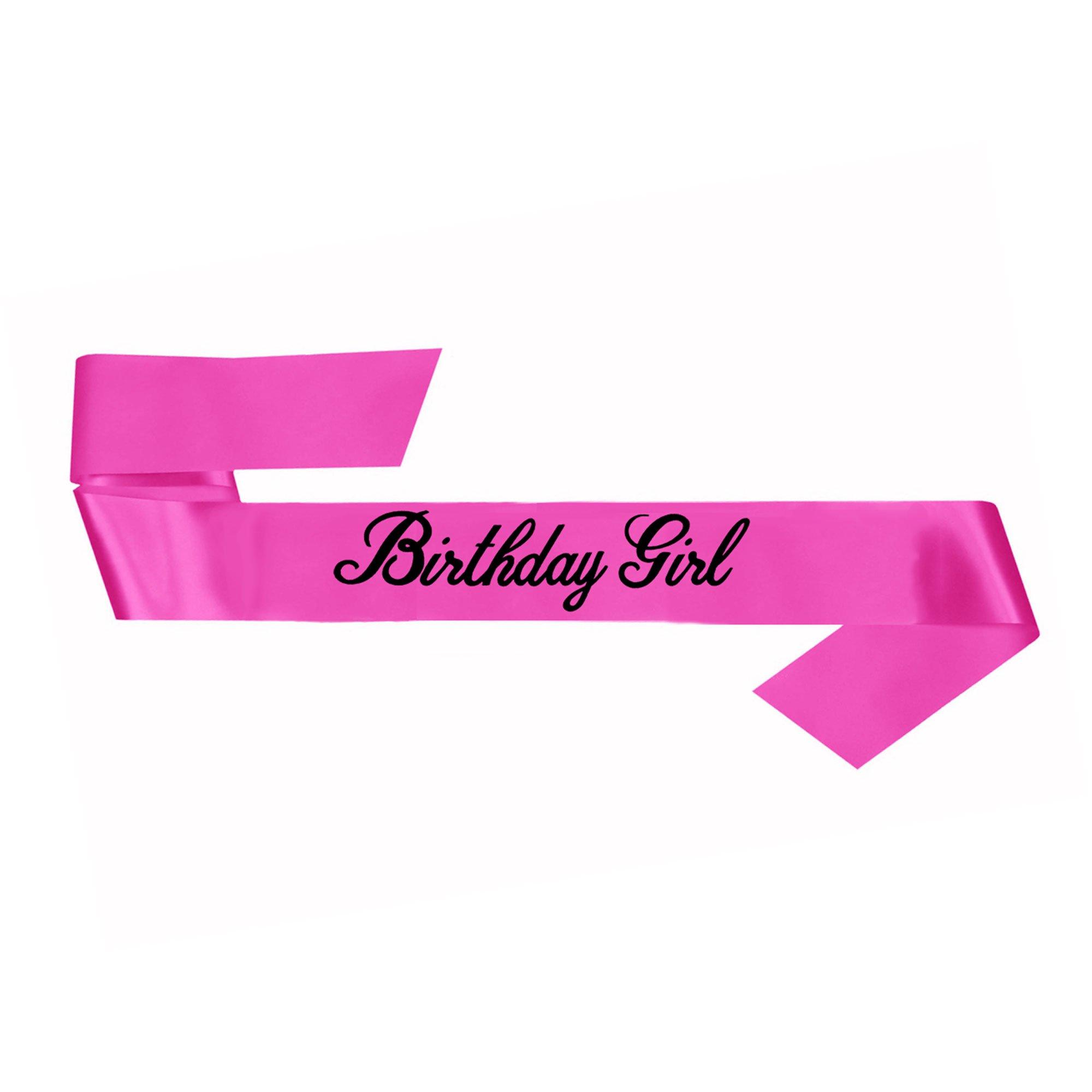 Birthday Girl Sash - Pink