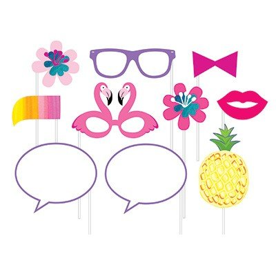 Pineapple N Friends Photo Booth Props Assorted Designs