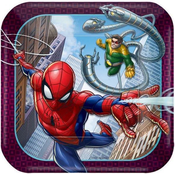 Spider-Man Webbed Wonder 17cm Square Plate